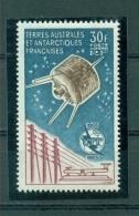 TAAF-1965 -Neuf,  ** ,mint  #  Centenaire De L´UIT , PA 9**, (cote 290,00€ ) - Terres Australes Et Antarctiques Françaises (TAAF)