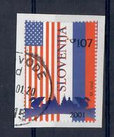 SLOVENIA 2001 - SUMMIT AMERICANO RUSSO - USATO - 1 VALORE USATO - Slovenia