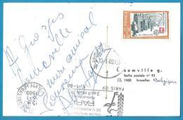 (A930) - Signature / Dédicace / Autographe Original - Alice SAPRICH - Autographes