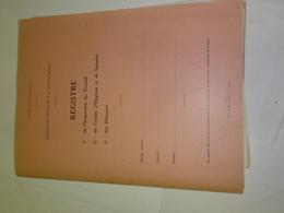 Registre De L Inspection Du Travail Comite D'hygiene 1977 Vieux Papiers - Collections