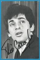 (A931a) - Signature / Dédicace / Autographe Original - Théo SARAPO - Acteur Et Chanteur - Autographes