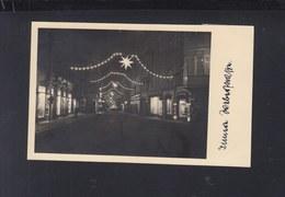 Dt. Reich AK Zittau Weihnachtsbeleuchtung - Zittau