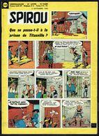 """SPIROU N° 1169 -  Année 1960 - Couverture """" LUCKY LUKE """", De MORRIS. - Spirou Magazine"""