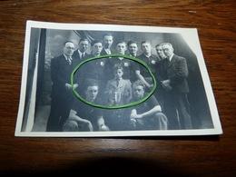 BC8-54 Top Carte Photo Equipe De Balle Pelote De Moulbaix 1942 (nom Des Joueurs Au Verso) Ath - Ath