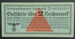 KRIEGSGEFANGENEN LAGERGELD 2 REICHSMARK Billet Prisonnier De Guerre STALAG - Marcophilie (Lettres)