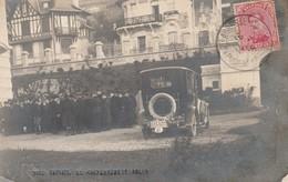 Carte Photo - NICE-HAVRAIS - Le Gouvernement  Belge ,( Militaire , Oldtimer ) 14-11-1916 ; ( Sainte-Adresse , Le Havre ) - Guerra 1914-18