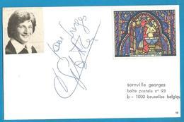 (A938a) - Signature / Dédicace / Autographe Original - Patrick SEBASTIEN - Autographes