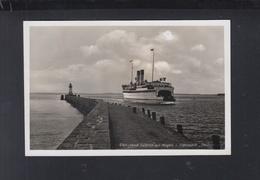 Dt. Reich AK Saßnitz Auf Rügen Fährschiff Deutschland - Rügen