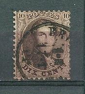 14A Gestempeld BRUXELLES - 1863-1864 Medaillen (13/16)