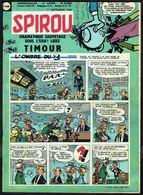 """SPIROU N° 1168 - Année 1960 - Couverture """"SPIROU"""", De FRANQUIN. - Spirou Magazine"""