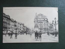 CPA BELGIQUE BRUXELLES PLACE DU BROUCKERE ANIMEE - Squares