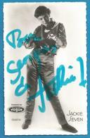 (A939C) - Signature / Dédicace / Autographe Original - Jackie Seven -chanteuse Rock - Autographes
