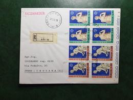 (14039) STORIA POSTALE ITALIA 1975 - 6. 1946-.. Repubblica