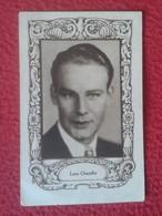 ANTIGUO CROMO OLD COLLECTIBLE CARD ACTOR DE CINE ACTEUR HOLLYWOOD LANE CHANDLER USA PUBLICIDAD PALMIL SANTONIL VER FOTOS - Cromos