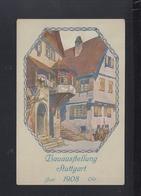 Dt. Reich Offizielle PK Bauaustellung Stuttgart 1908 - Stuttgart