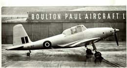 BOULTON PAUL BALLIOL T1 Mamba     +-  20 *  11 CM ROYAL AIR FORCE AIRCRAFT ROLLS ROYCE  MERLIN ENGINE - Aviación