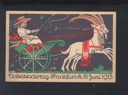 Dt. Reich Offizielle PK Volkskindertag Frankfurt Am Main 1913 - Frankfurt A. Main