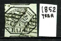 VATICANO - Year 1852 - Viaggiato - Traveled - Voyagè - Gereist. - ...-1929 Préphilatélie
