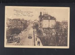 Dt. Reich AK Plauen I. V. Bahnhofstrasse 1914 - Plauen