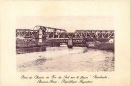 CPA Buenos Aires Pont Du Chemin De Fer Du Sud ARGENTINA (787737) - Argentina