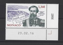 MONACO.  YT  N°3028  Neuf **  2016 - Monaco
