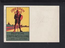 Dt. Reich Offizielle PK Dresden Städte-ausstellung 1903 Wilhelm Baensch - Dresden