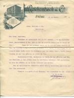 REICHENBACH & Cº- ST. GALL 1902 - Suiza