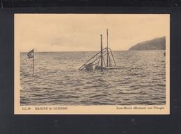 Marine De Guerre Sous-Marin Effecuant Une Plongee - Ausrüstung