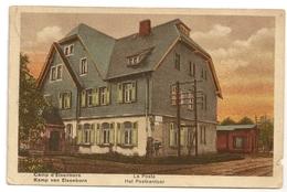 Camp D'ELSENBORN - La Poste / Kamp Van ELSENBORN - Het Postkantor. Colorisée. - Bütgenbach