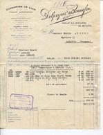 DELPEYRAT & BONNEFON- CONSERVES DE LUXE- SARLAT-EN-PÉRIGORD- 1928 - Alimentos