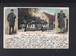 Dt. Reich Litho-AK Gruß Aus Zschernitz 1907 - Sonstige