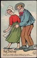 GRIFF Ilustrateur (1910) ** NOS DICT-ON ** CPA écrite En 1923 TBE - Griff