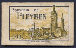 Carnet Souvenir De Pleyben 12 Cpa - Pleyben
