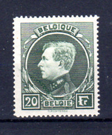 1929   Belgique, Grand Montenez, 290 A**, Cote 475 €, - 1929-1941 Grand Montenez