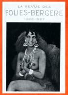 CP JOSEPHINE BAKER Seins Nus Music Hall Folies Bergere Carte Vierge TBE - Artistes