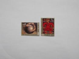 LOT DE 2 TIMBRES NEUFS : PLANETTE 2000 - Neufs
