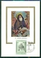 CM-Carte Maximum Card # 1973 -Vatican # Religion #  Poeta A Teologo S.Nerses Shnorali - Maximum Cards