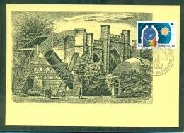 CM-Carte Maximum Card # 1984-FINLANDE-SUOMI #  Astronomy -Astronomie #  Observatorium - Cartes-maximum (CM)