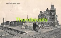 CPA PASSENDALE STATIE PASSENDAELE PASSENDALE STATION GARE - Zonnebeke