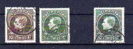 1929   Belgique, Roi Albert Grand Montenez, 289 – 290 – 290 A, Cote 42,50 €   Bon Centrage - 1929-1941 Grand Montenez