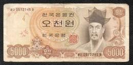 5000 COREE - Korea, South
