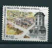 2012  CUSANO MILANINO CITTA' GIARDINO  USATO - 6. 1946-.. Repubblica
