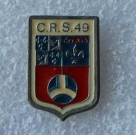 Pin's Police . CRS 49 - Police