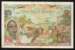 5000F BANQUE CENTRALE - CENTRAFRIQUE - Centrafricaine (République)