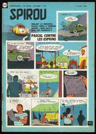 """SPIROU N° 1151 -  Année 1960 - Couverture """" PASCAL """" De Paul DUBAR Et CRIL . - Spirou Magazine"""