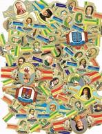 31065. Lote De Mas De 60 Vitolas CAPOTE Y ALVARO, Personajes, Inventores, Provincias..... - Cigar Bands