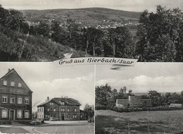 CPSM ALLEMAGNE / BIERBACH -SAAR / GRUSS AUS... CARTE MULTI-VUES - Germany