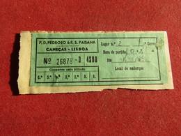 Portugal - P.D.Pedroso & F.S.Paisana Caneças - Lisboa 1952 - Bus