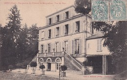 D60  BETZ  Perspective Du Château De Macqueline - Vue Du Parc - Nanteuil-le-Haudouin