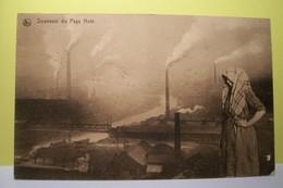 CHARLEROI   -  Souvenir Du Pays Noir - MINES DE CHARBON  - ( Voir Dos Cachet Poste ) CHARLEROY - Charleroi